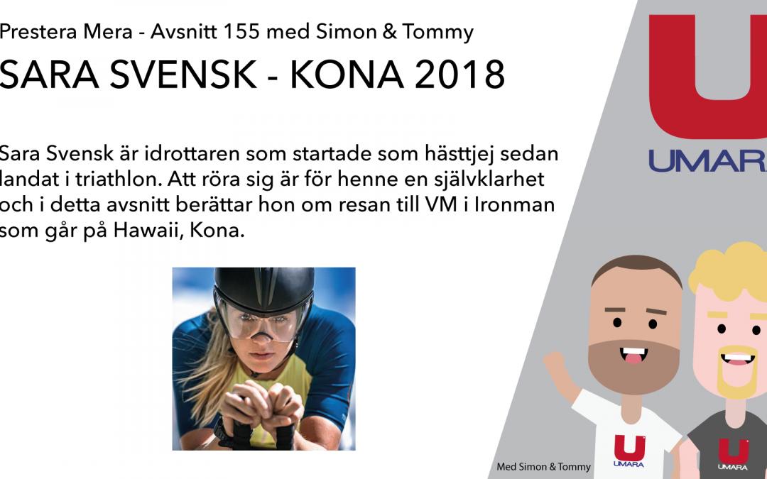 #155 Intervju – Sara Svensk – läkaren som fokuserar på triathlon