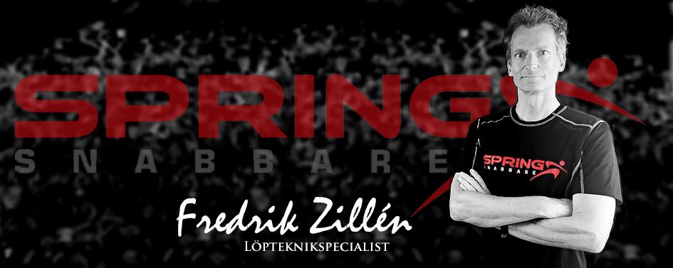Fredrik Zillén – Spring Snabbare